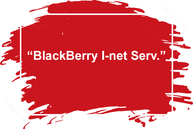 BlackBerry Internet Service услуга МТС